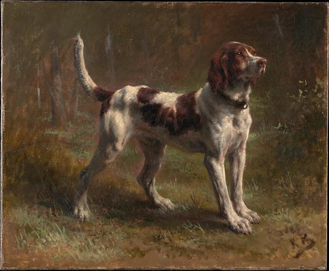 A Limier Briquet Hound, Rosa Bonheur 1856