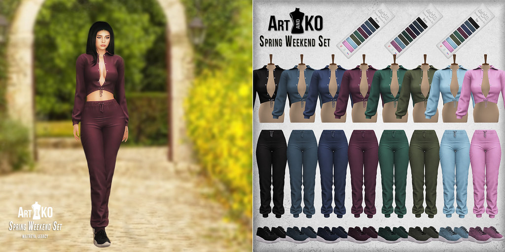 Art&Ko – Spring Weekend Set – GALA fair by TRES CHIC