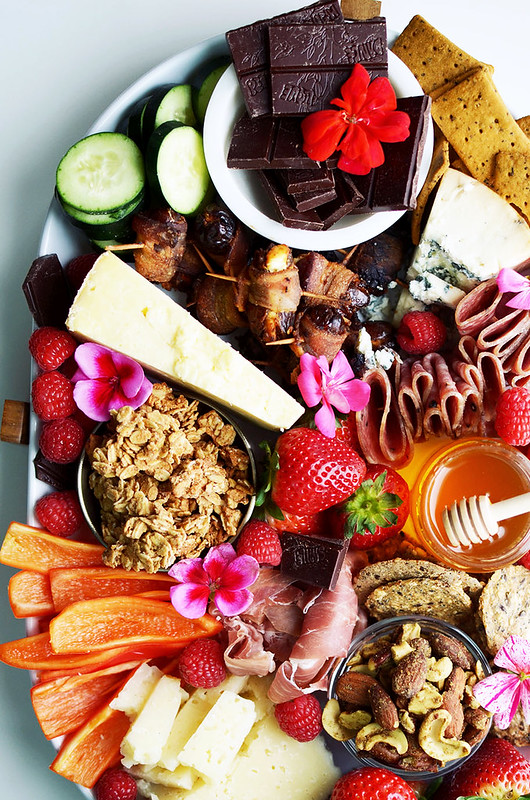 How to Make a Sweet and Salty Charcuterie Snack Board {gluten-free, paleo, keto, Whole30}