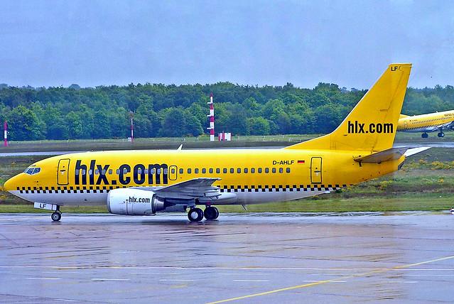 D-AHLF Boeing 737-5K5 [24927] (Hapag-Lloyd Express) Dusseldorf Int'l~D 20/05/2005