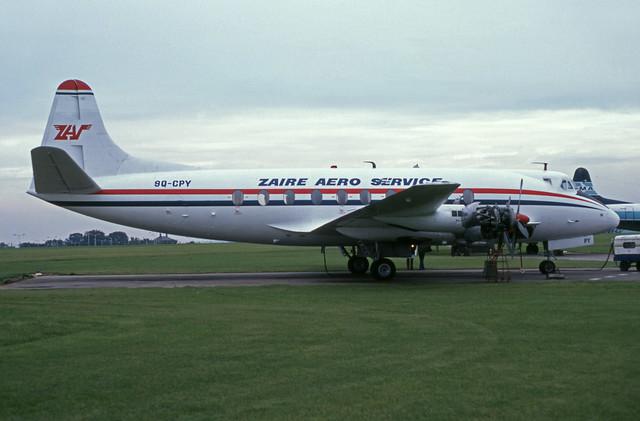 9Q-CPY (Zaire Air Service)
