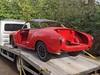 Karmann Ghia repositioning