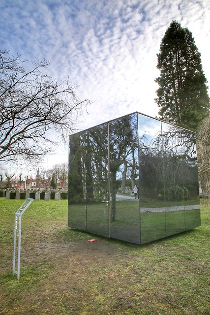 The Sjel, a musical art installation at the city cemetery of Leuven (until 28 March 2021)