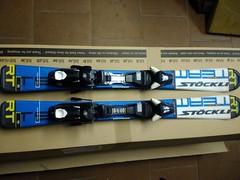 Dětské lyže STOCKLI, vel: 90, 100, 110 cm - titulní fotka