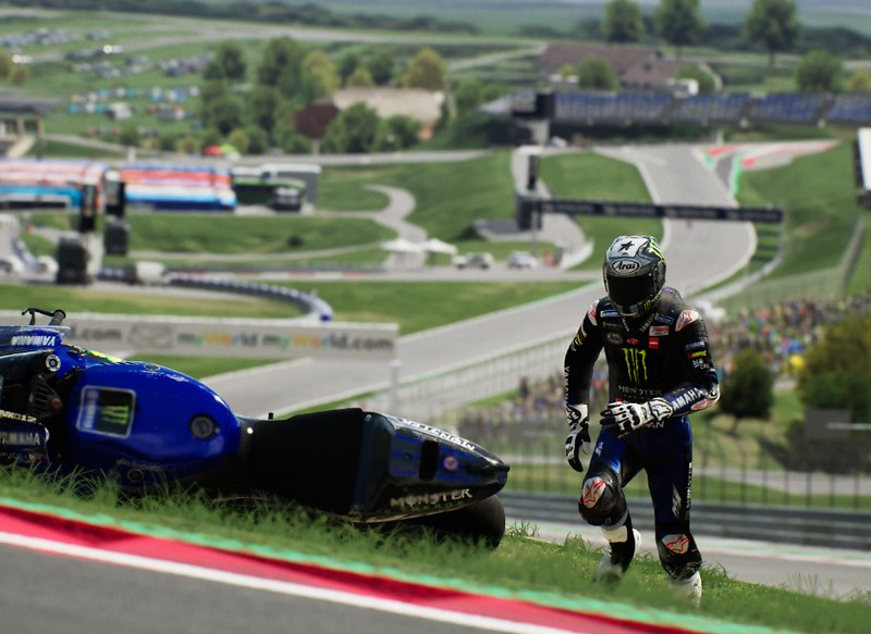 MotoGP 21  Bike Retrieval Feature