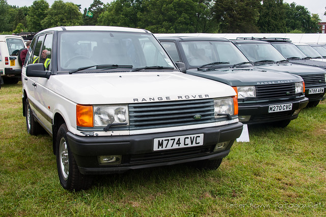 Range-Rover P38A Police Demonstration Vehicle - 1994