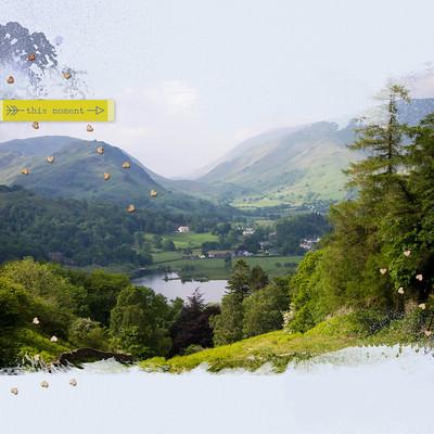 England Digital Scrapbook Album