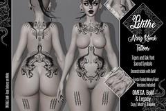 Lilithe'// Nang Kwak Tattoos @ Skin Fair 2021