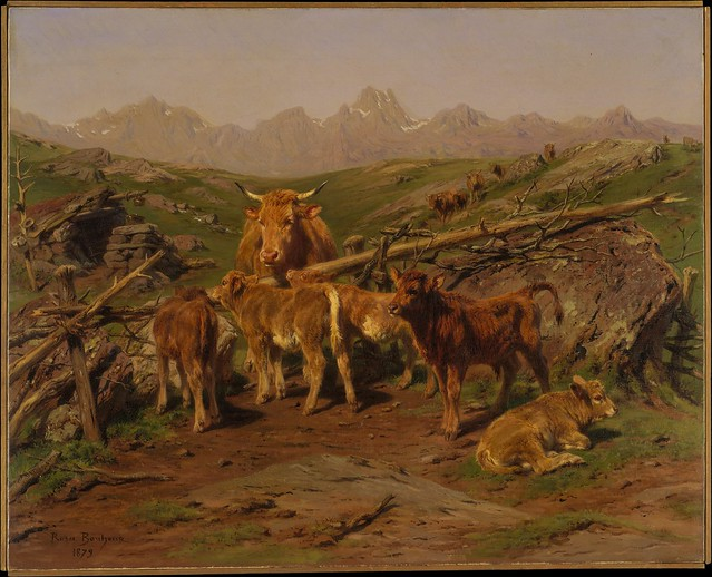 Weaning the Calves, Rosa Bonheur 1879