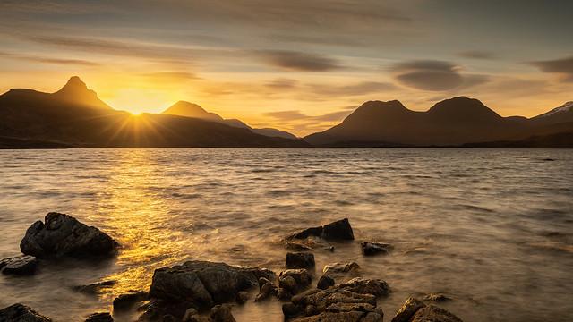 Loch Bad a' Ghaill Sunrise