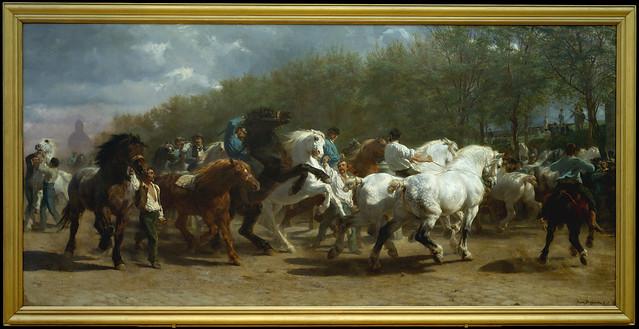 The Horse Fair, Rosa Bonheur 1852-55