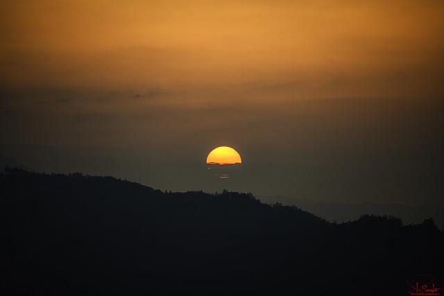 Sunset in Kaltbrunn - Switzerland