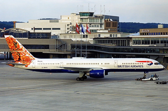 British Airways Boeing 757-200 G-BIKH
