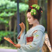 Maiko & Geiko posted a photo:【Maiko, June 14, 2020】Maiko is Kanohisa.Shooting location is Seirai-in Temple.Photo by kurara. 【舞妓, 2020-06-14】舞妓は叶久さんです。撮影場所は西来院。Photo by kurara.-----------------About reprint of photograph :The reproduction and use of photographs are welcome, but please be sure to include the following information.写真の転載について :写真の転載・使用は歓迎いたしますが、その際に必ず 次の記載をしていただくようお願いします。Maiko is Kanohisa.Photo by Photographer name/撮影者名.(licensed CC BY-SA 2.0)55maiko.net