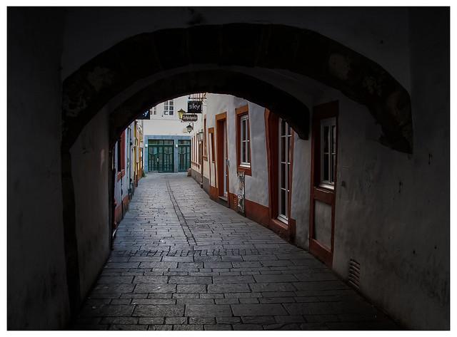 Un vicolo a Trier