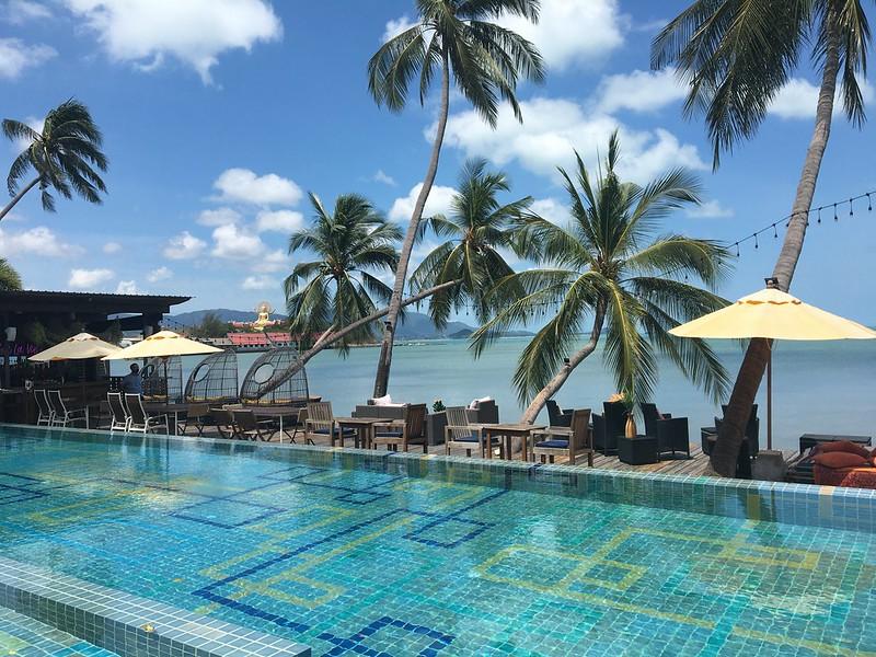 人気の映えスポットらしい サムイ島
