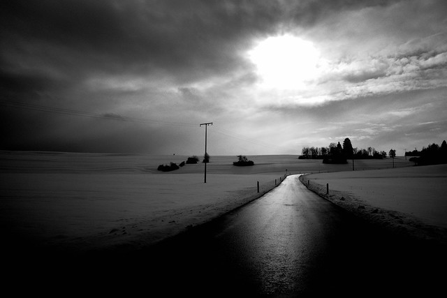 On the black road