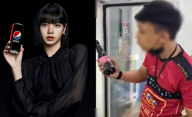 Menjijikkan! Ludah Pada Botol Lisa BlackPink, Tindakan Lelaki Ini Dikecam Netizen
