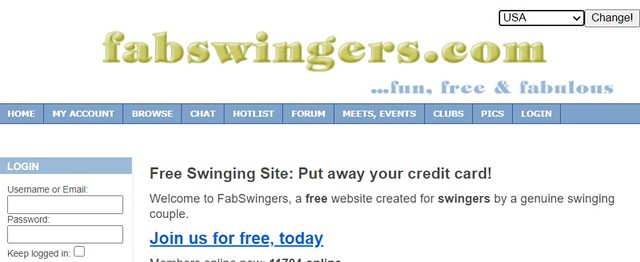 fabswingers main page