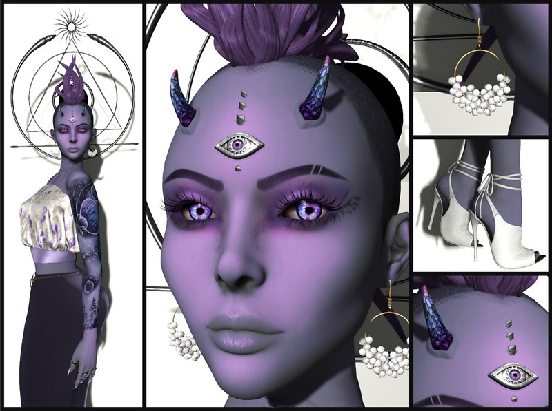 Helena Stringer - SL Syndicate - Illuminous Spring - Collage