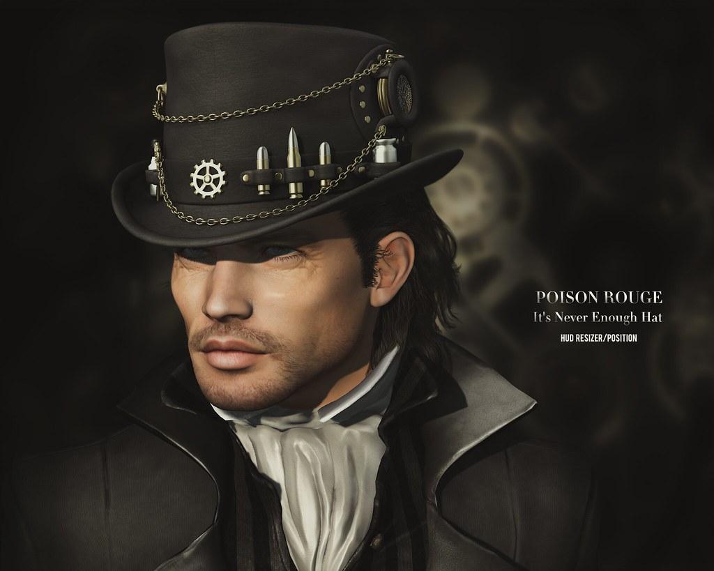 POISON ROUGE It's Never Enough Hat(Unisex)