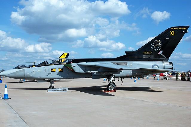 RAF Tornado ZE887