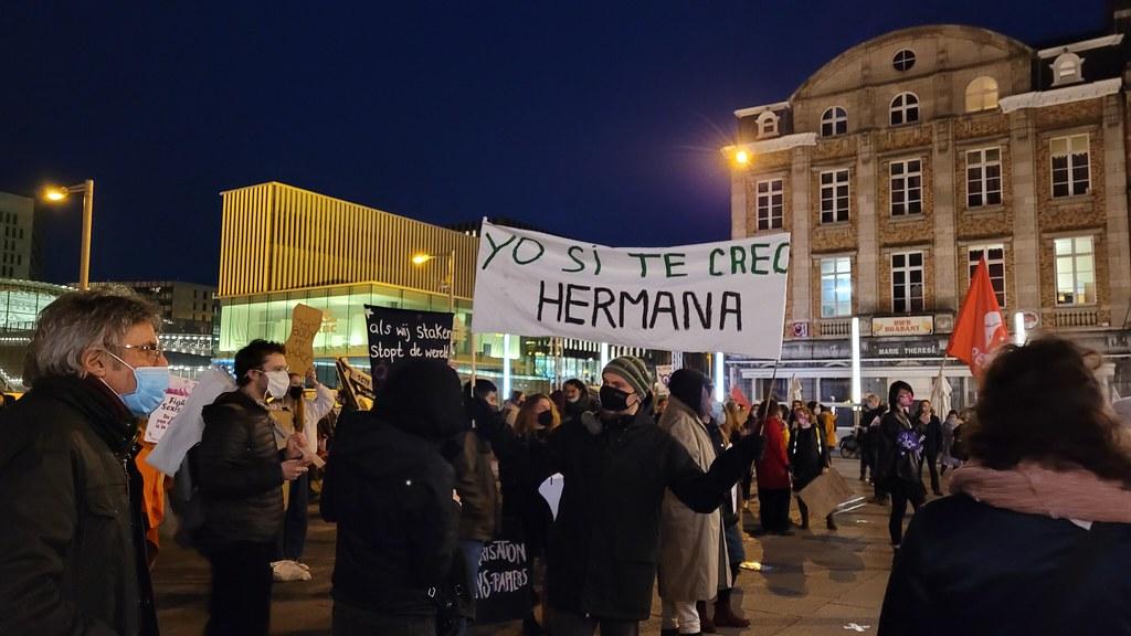 8 de Marzo en Lovaina