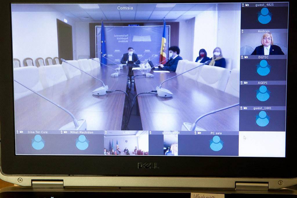 09.03.2021 Ședința Comisiei de control al finanțelor publice