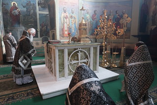 31.03.2021   Литургия Преждеосвященных Даров в Иверском монастыре