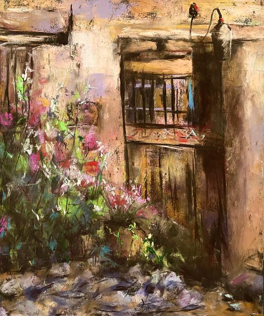 Pastel painting (28x32cm)