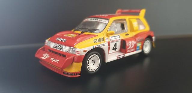 1986 FRC Round 5 Rallye d'Antibes #04 MG Metro 6R4 Didier Auriol