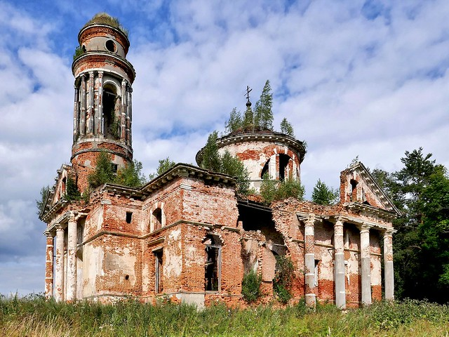 Abandoned church. Built in 1797.