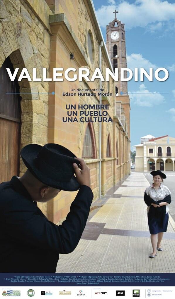 3er. afiche - Documental VALLEGRANDINO