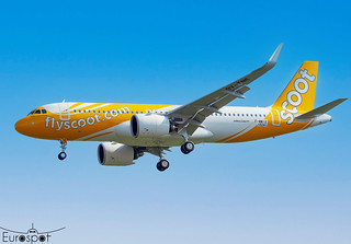 F-WWIZ / 9V-TNE Airbus A320-271N Scoot s/n 10241 * Toulouse Blagnac 2021 *