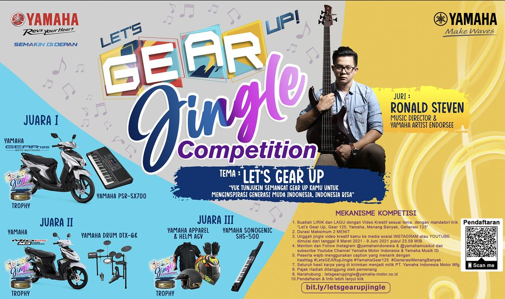Lets GEAR up Jingle Competition