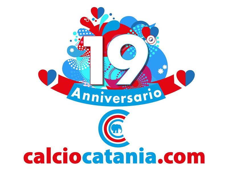 Buon compleanno, CalcioCatania.Com! (Grafica Bruno Marchese)