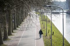 Cold day, sunny walk