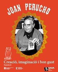 """L'exposició """"Joan Perucho. Creació, imaginació i bon gust"""" al CRAI Biblioteca de Lletres"""