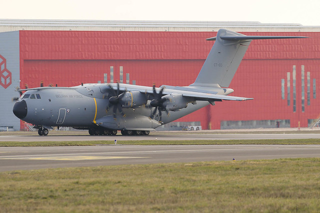 CT-03 Airbus A400M Belgian Air Force
