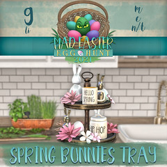 Easter Hunt Prize Reveal: Spring Bunnies Tray