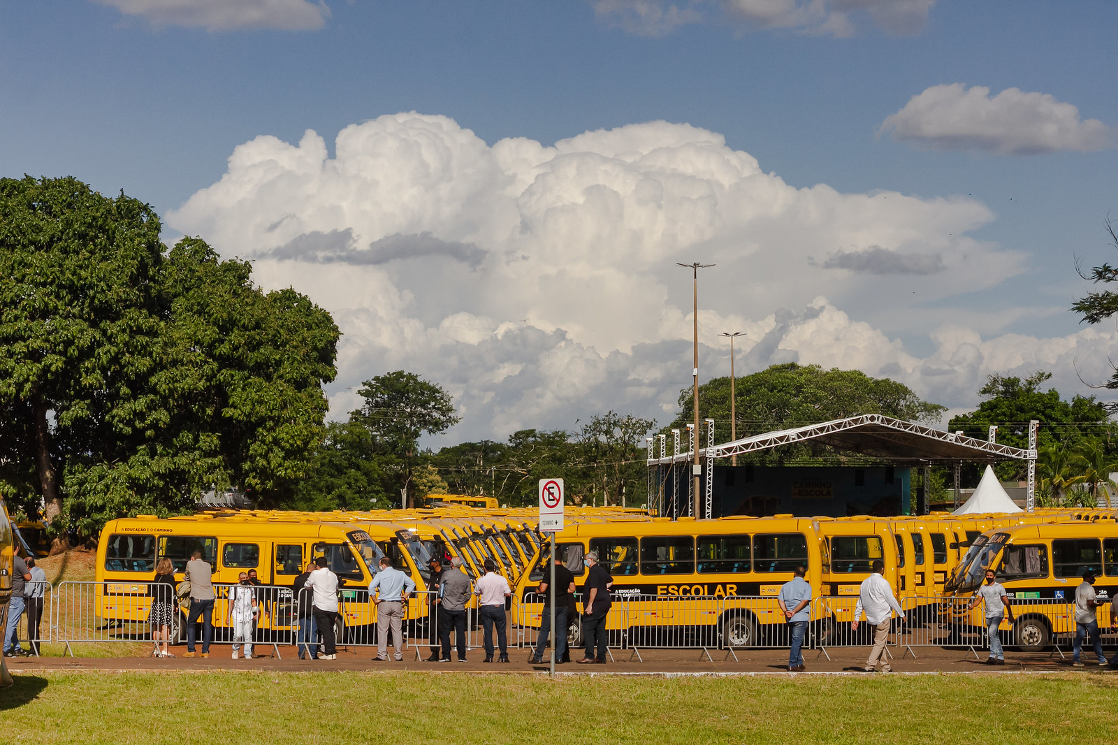CAMINHOS DA ESCOLA (MS) COM A PRESENÇA DO MINISTRO DA EDUCAÇÃO, MILTON RIBEIRO
