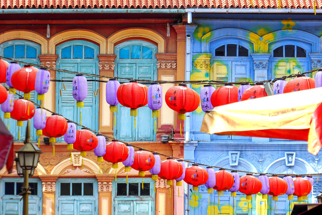 In the heart of Chinatown, Singapore