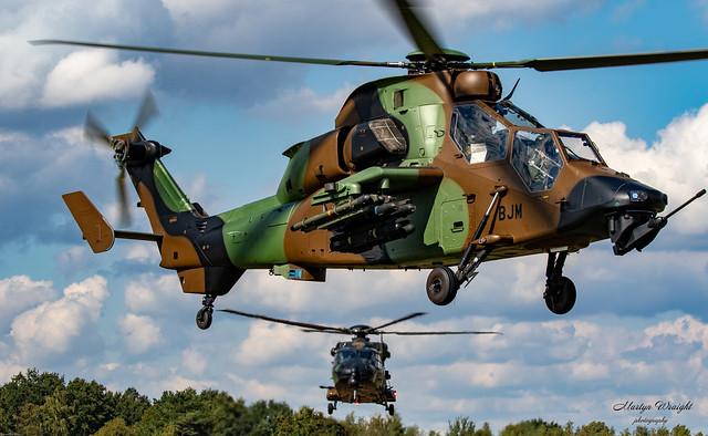 French Army EC-665 Tigre & NH90 Caiman