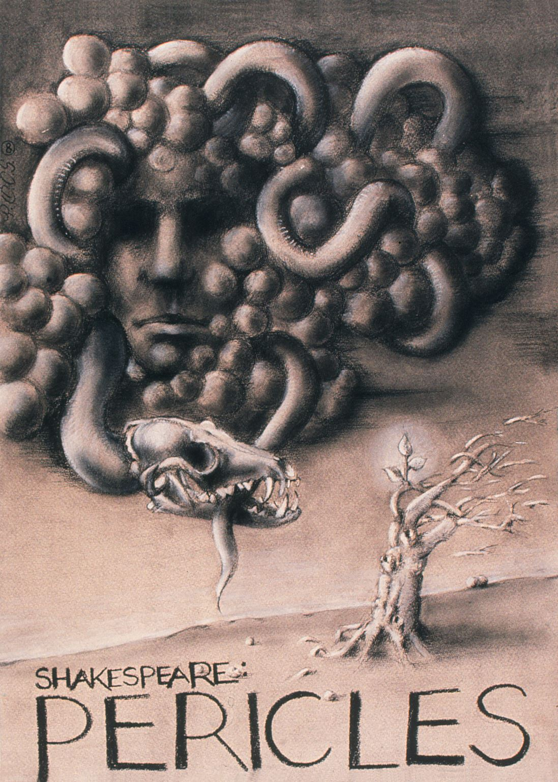 Péter Pócs - Shakespeare- Pericles   poster, 1980