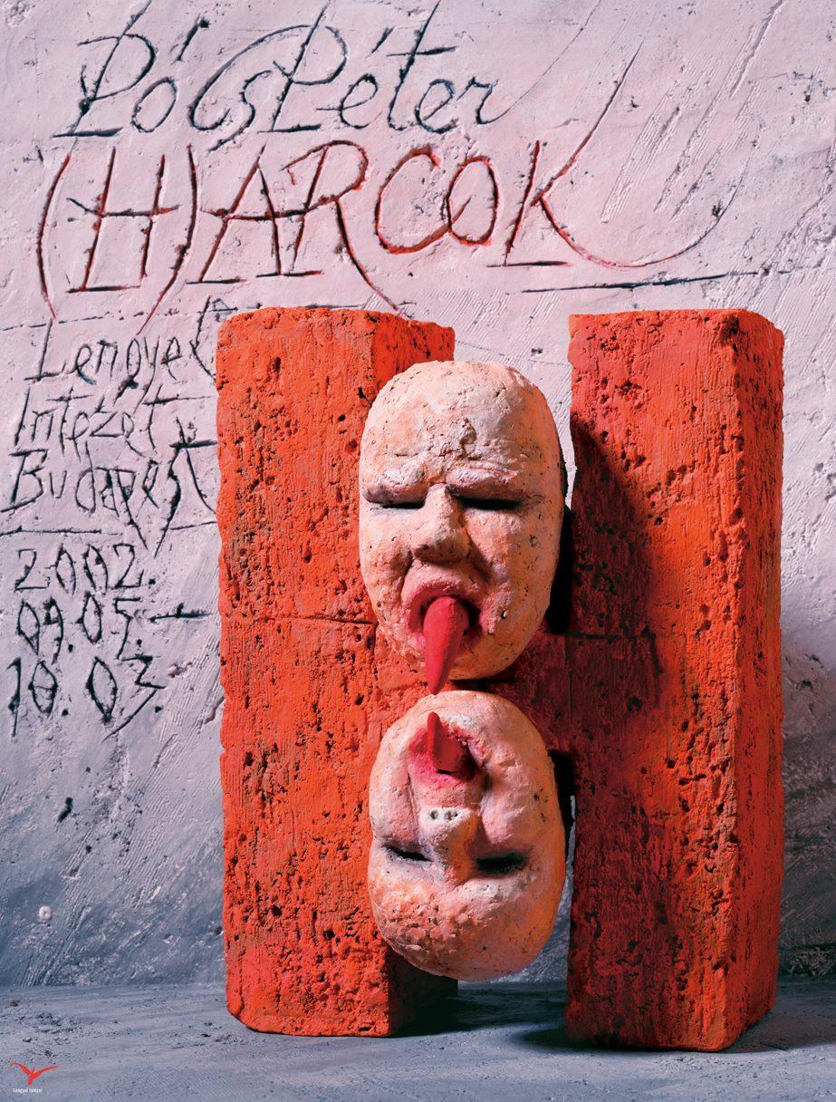 Péter Pócs - FIGHTS   FACES poster, 2002