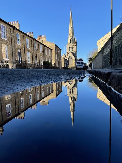 All Saints Church, Jesus Lane, Cambridge. Unedited, straight from iPhone.