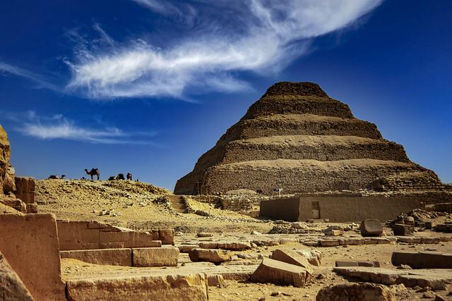 Djoser's Step Pyramid, Saqqara, Egypt