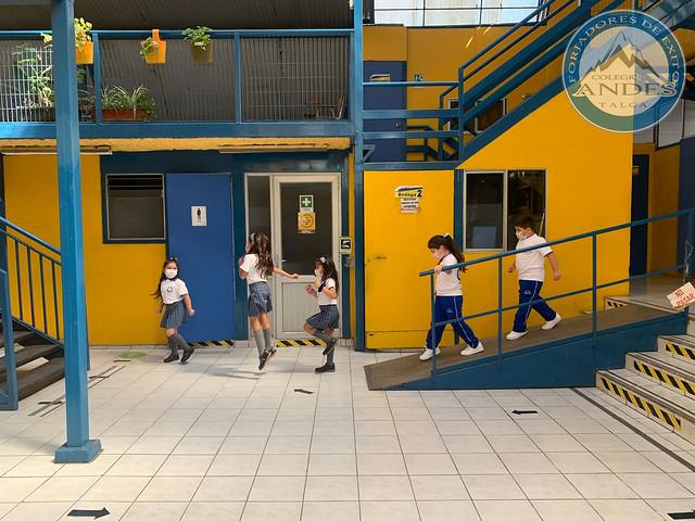 1º Día de clases 2021 (Grupo azul)