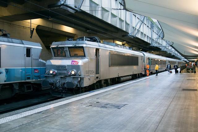 SNCF BB 7204 Gare de Montparnasse