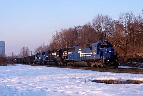 conrail xns emd sd50 cr ns sd402 coal cpburn allentownpa readingline train railfan railroad